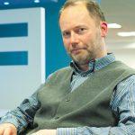 Martin Kretschmer sitting