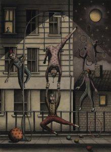 Acrobats Unemployed by Giulia Frances (http://giuliafrances.blogspot.co.uk/)