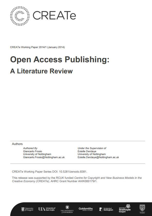 CREATe Working Paper 14-01-coversheet