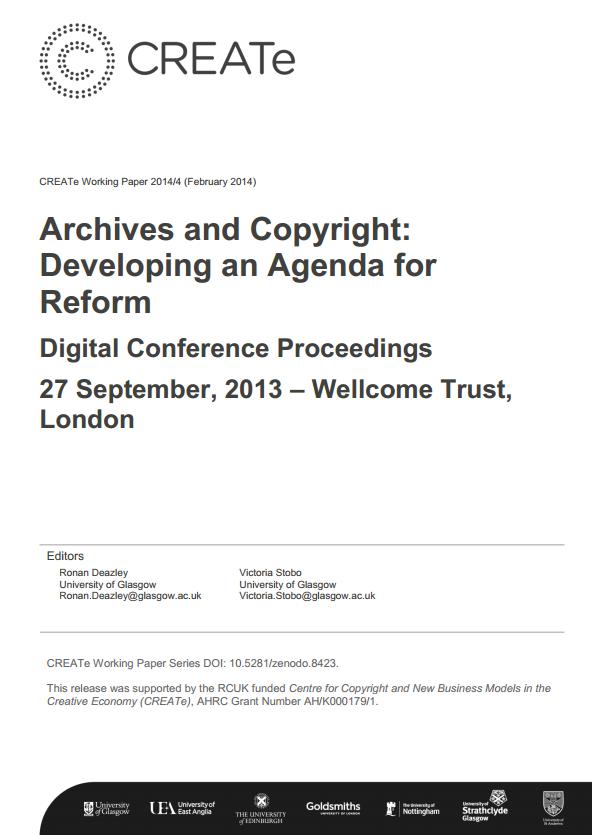 CREATe Working Paper 2014-04