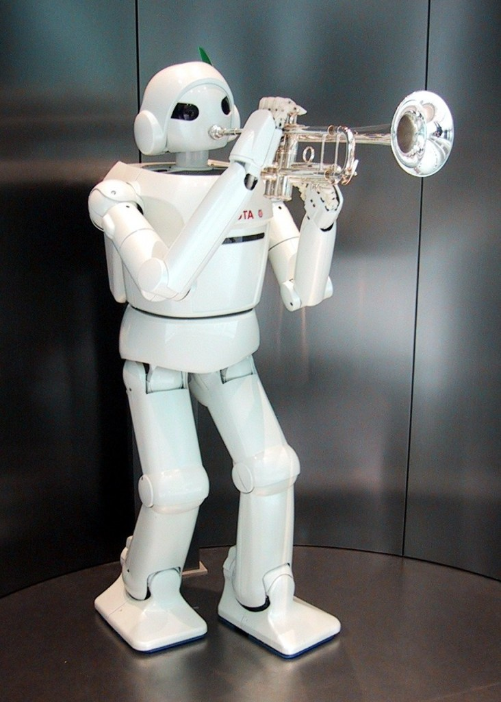 Who knows what robots will help people with in the future?  Image made available under CC BY-SA 3.0 by Wikimedia Commons user Chris 73