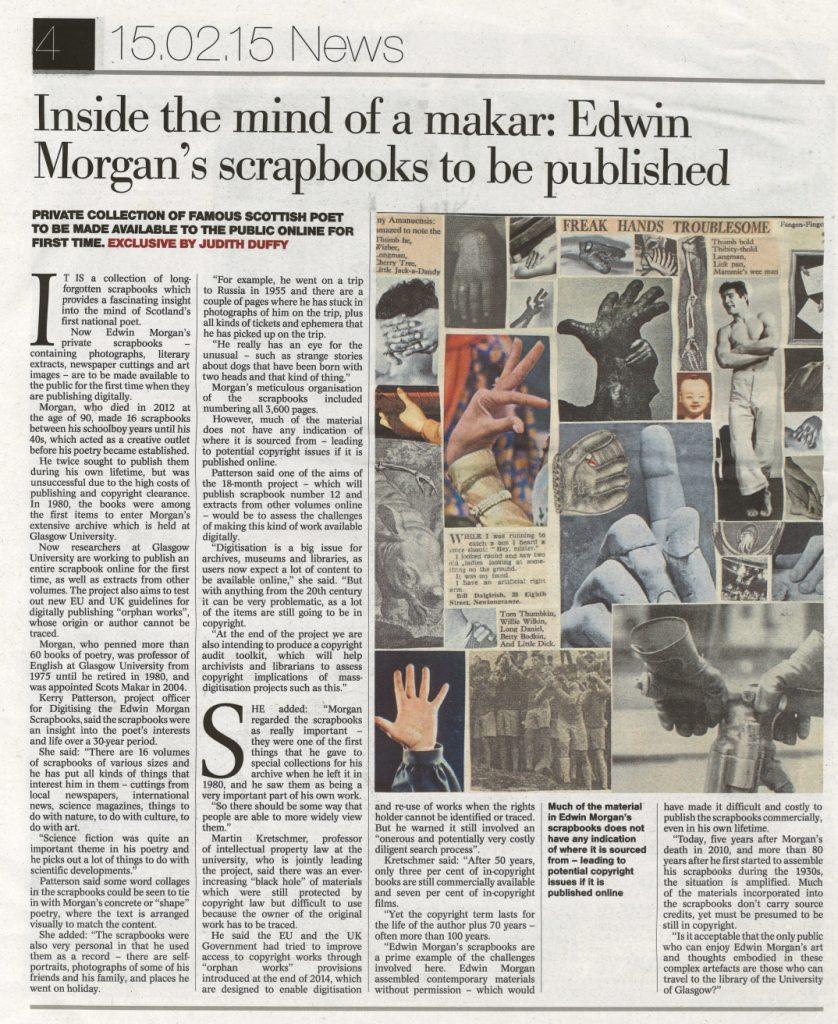Edwin-Morgan-in-Sunday-Herald-25pc