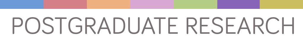 Postgraduate coursework research