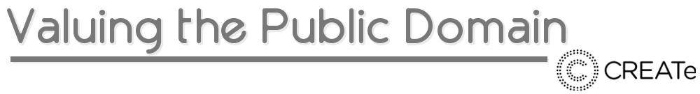 Valuing the Public Domain
