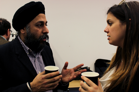 CREATe's Dr. Sukhpreet Singh chats to presenter Carolina Bandinelli