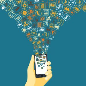 Sharing economy platforms are made possible through multiple forms of convergence