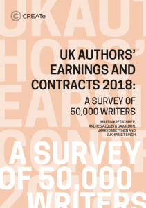 UK Authors' Earnings and Contracts 2018: A Survey of 50,000