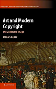 Art and Modern Copyright by CREATe's Dr Elena Cooper