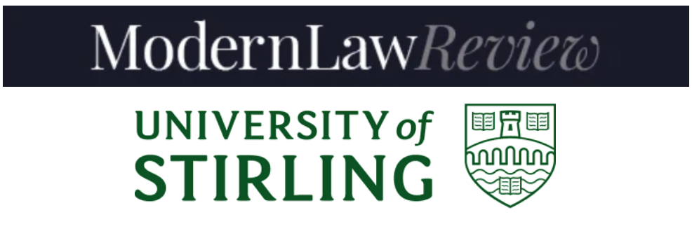 ModernLaw and University of Stirling logos